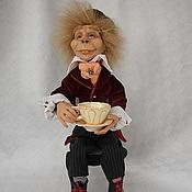 Куклы и игрушки ручной работы. Ярмарка Мастеров - ручная работа Безумный Шляпник из Алисы в стране чудес, авторская кукла. Handmade.