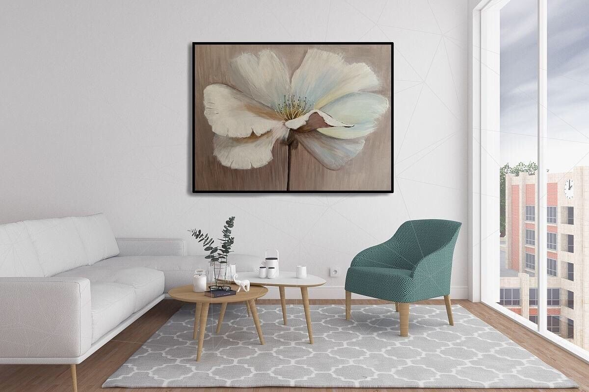 Painting for interior flowers poppy, acrylic, 60h80, Pictures, Khimki, Фото №1