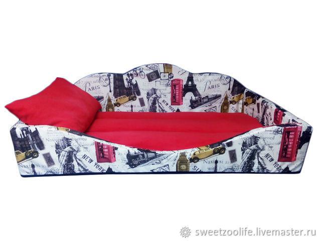 Лежанка (лежак, подстилка, матрас, кровать, диван) для собаки №102, Лежанки, Москва,  Фото №1