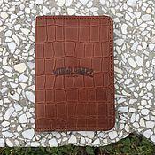 Сумки и аксессуары handmade. Livemaster - original item Passport cover // Look.. Handmade.