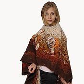 Одежда handmade. Livemaster - original item Handmade scarf, shawl, wrap Fall. Handmade.