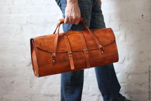 Мужские сумки ручной работы. Ярмарка Мастеров - ручная работа. Купить Сумка для инструментов. Handmade. Рыжий, сумка для путешествий