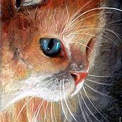 Картины и панно ручной работы. Ярмарка Мастеров - ручная работа Картина пастелью Кот. Handmade.