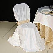 Свадебный салон ручной работы. Ярмарка Мастеров - ручная работа Чехлы на стулья. Handmade.