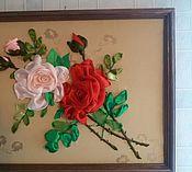 """Картины и панно ручной работы. Ярмарка Мастеров - ручная работа """"Аромат любимых Роз"""". Handmade."""
