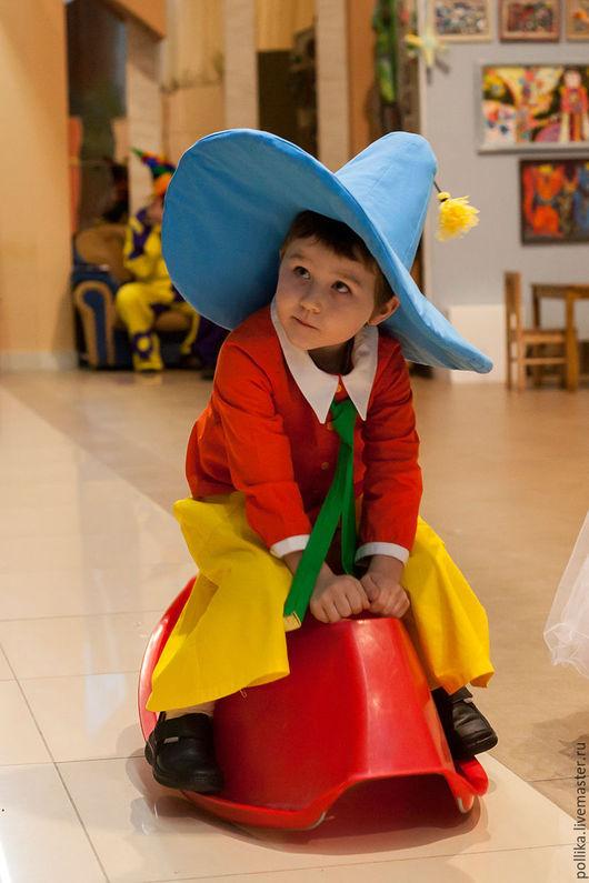 Детские карнавальные костюмы ручной работы. Ярмарка Мастеров - ручная работа. Купить Костюм Незнайки. Handmade. Комбинированный, синтепон