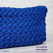 """Сумки и аксессуары ручной работы. Ярмарка Мастеров - ручная работа Клатч """"Синий"""" (синий, васильковый, синяя сумка, синий клатч). Handmade."""