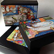 Косметика ручной работы. Ярмарка Мастеров - ручная работа Подарочный сет «КОШКИ». Handmade.