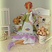 Куклы и игрушки ручной работы. Ярмарка Мастеров - ручная работа Моник - фея Прованса (текстильная кукла в стиле Тильда). Handmade.