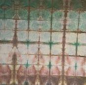 Материалы для творчества ручной работы. Ярмарка Мастеров - ручная работа Сухая листва, ткань ручного крашения. Handmade.