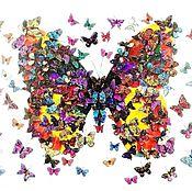 Картины и панно handmade. Livemaster - original item Butterfly. Handmade.