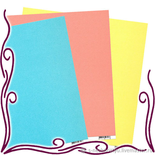 Картон для открыток скрапбукинг