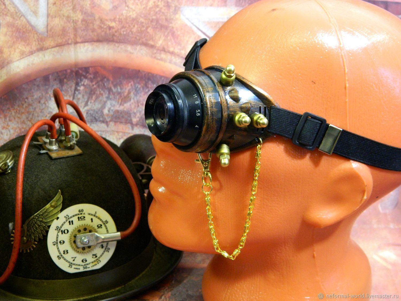 "Monocle Steampunk ""SCIENTIST CYBER-57"", Subculture Attributes, Saratov,  Фото №1"
