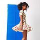Платья ручной работы. Вишневое платье.. Aleksandra Gapanovich. Интернет-магазин Ярмарка Мастеров. Рисунок, летнее платье, одежда для женщин