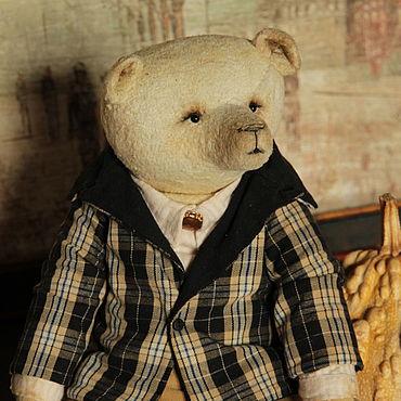 Куклы и игрушки ручной работы. Ярмарка Мастеров - ручная работа Мишки Тедди: Джордж. Handmade.
