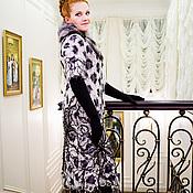 Одежда ручной работы. Ярмарка Мастеров - ручная работа Пальто Бабочка и леопард. Handmade.