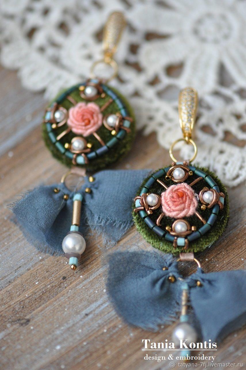 Earrings 'Summer day', Earrings, Tver,  Фото №1