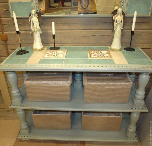 """Мебель ручной работы. Ярмарка Мастеров - ручная работа. Купить Проект """"Дом с биографией"""" (Прихожая ч.2). Handmade. скамейка"""