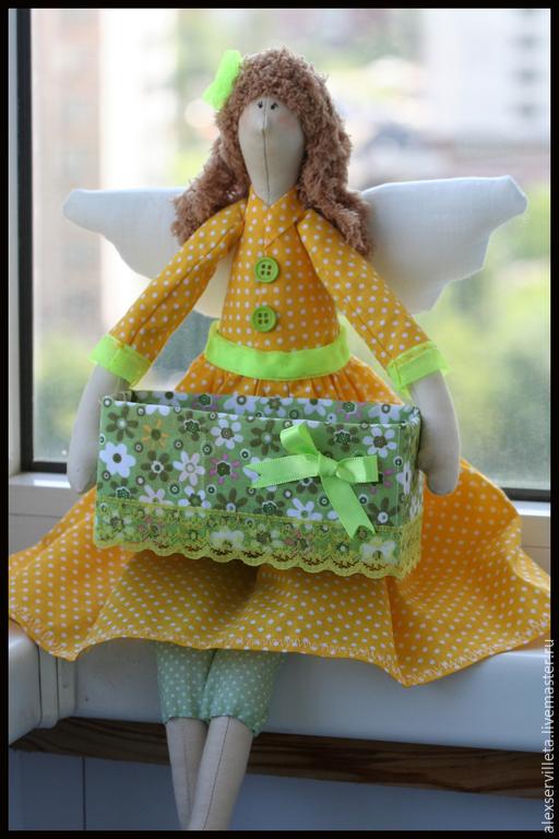 Куклы Тильды ручной работы. Ярмарка Мастеров - ручная работа. Купить Хранительницы чайных пакетиков. Handmade. Разноцветный, хранительницы, синтепух