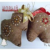 Куклы и игрушки ручной работы. Ярмарка Мастеров - ручная работа Ванильки новогодние. Handmade.