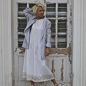 Одежда ручной работы. Ярмарка Мастеров - ручная работа Сарафан из льна ZЕФИРНЫЙ. Handmade.