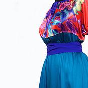 """Одежда ручной работы. Ярмарка Мастеров - ручная работа Бохо-платье """"VETER-71"""". Handmade."""
