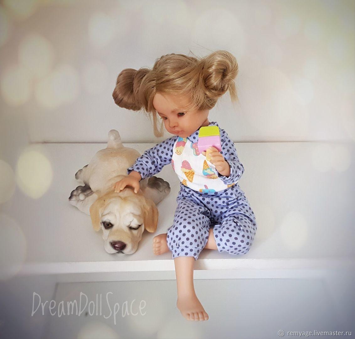 Выкройка для мягконабивной куклы