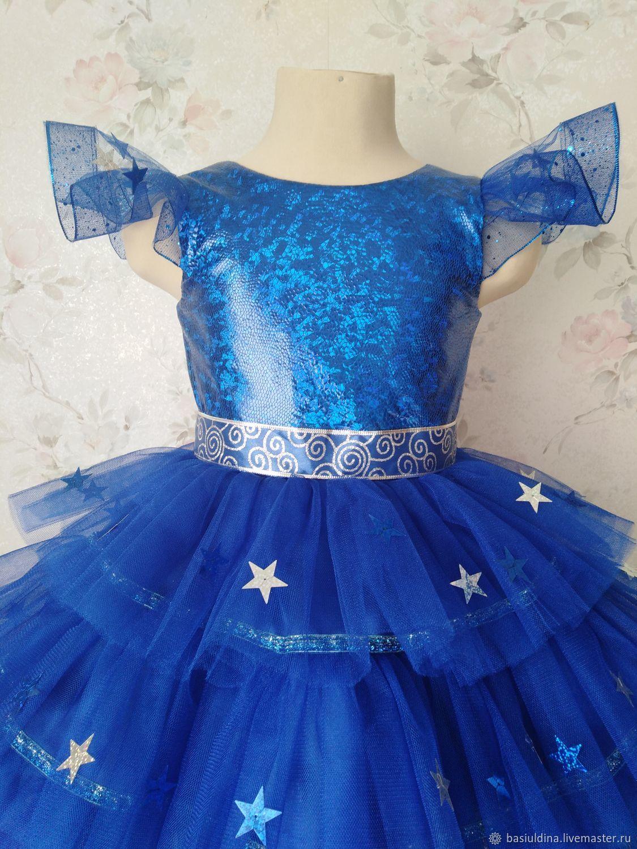 Карнавальное Платье Для Девочки -7391