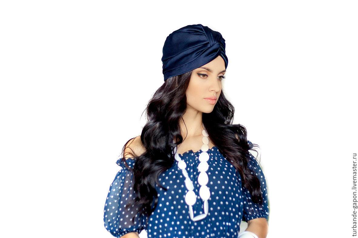 вязание шапок схемы и описание чалма