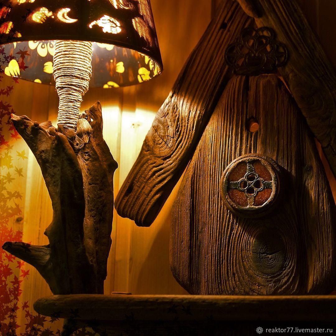 Светильник настенный ночник Домик доброй сказки, Настенные светильники, Санкт-Петербург,  Фото №1