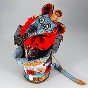 Для дома и интерьера handmade. Livemaster - original item Royal Rat `of Clarinda`container for gift.. Handmade.