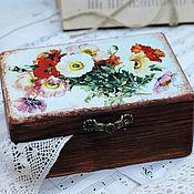 Для дома и интерьера handmade. Livemaster - original item Maki box retro style. Handmade.