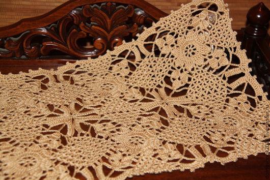 Текстиль, ковры ручной работы. Ярмарка Мастеров - ручная работа. Купить Салфетка под столовые приборы  (скатерть, дорожка на стол). Handmade.