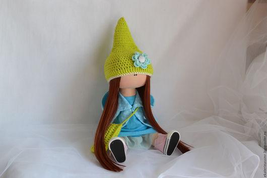 Куклы тыквоголовки ручной работы. Ярмарка Мастеров - ручная работа. Купить Текстильная куколка. Handmade. Комбинированный, гномочка, кукла на заказ