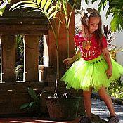 Работы для детей, ручной работы. Ярмарка Мастеров - ручная работа неоновая юбка ТуТу (пачка). Handmade.