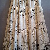 Одежда handmade. Livemaster - original item Skirt long linen. Handmade.