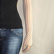 Аксессуары ручной работы. Ярмарка Мастеров - ручная работа Рукава Celine (95% шерсть, акрил). Handmade.