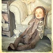 Куклы и игрушки ручной работы. Ярмарка Мастеров - ручная работа Тедди долл Зоя и комодик. Handmade.