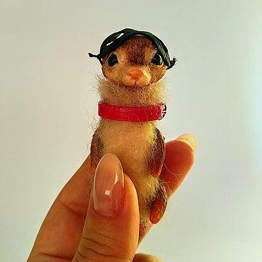 Куклы и игрушки ручной работы. Ярмарка Мастеров - ручная работа Карманный воришка. Handmade.