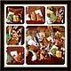 Кулинарные сувениры ручной работы. Ярмарка Мастеров - ручная работа. Купить набор из 6 мини пряничков. Handmade. Новый Год