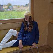 Аксессуары handmade. Livemaster - original item Shafron fisherman`s Knitted hat. Handmade.