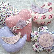 Работы для детей, ручной работы. Ярмарка Мастеров - ручная работа Подвески-мягкие игрушки для мобиля для кроватки новорожденного. Handmade.