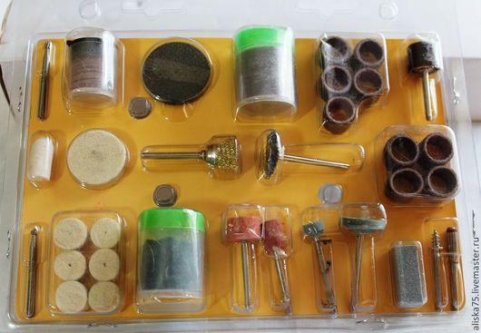 Для украшений ручной работы. Ярмарка Мастеров - ручная работа. Купить Насадки в блистере, 105 предметов. Handmade. Насадки, для дрели