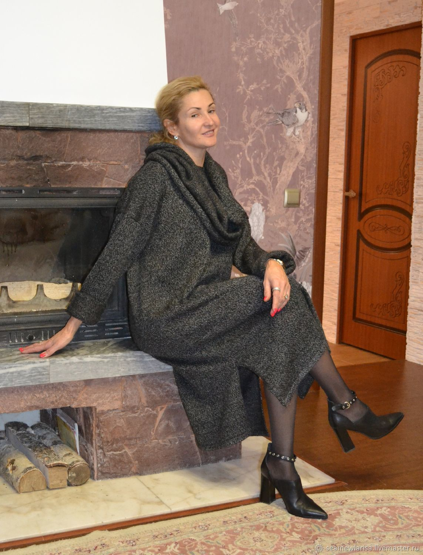 Платье-свитер меланж с аксессуарами, Платья, Сарапул,  Фото №1