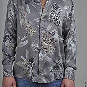 """Рубашки ручной работы. Ярмарка Мастеров - ручная работа Мужская шёлковая  рубашка """"Salvatore"""". Handmade."""
