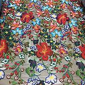 Материалы для творчества handmade. Livemaster - original item Fashion lace embroidery on the grid, Valentino 4. Handmade.