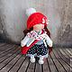Коллекционные куклы ручной работы. Иришка, 24см - интерьерная кукла. Светлана Теницкая. Ярмарка Мастеров. Интерьерная кукла, кукольная обувь