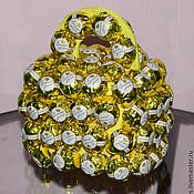 Композиции ручной работы. Ярмарка Мастеров - ручная работа Гиря из конфет. Handmade.