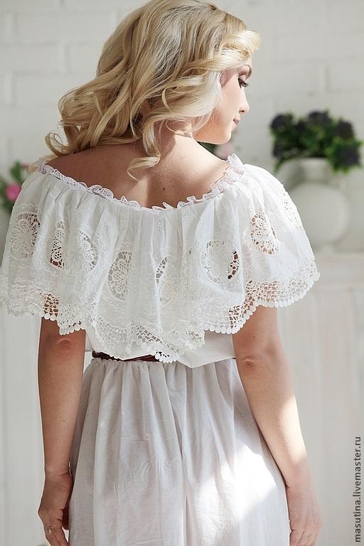 """Платья ручной работы. Ярмарка Мастеров - ручная работа. Купить Платье """"Нежность утра"""". Handmade. Платье в пол, шитье, бартер"""