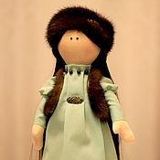Куклы и игрушки ручной работы. Ярмарка Мастеров - ручная работа Интерьерная кукла СНЕЖКА. Handmade.